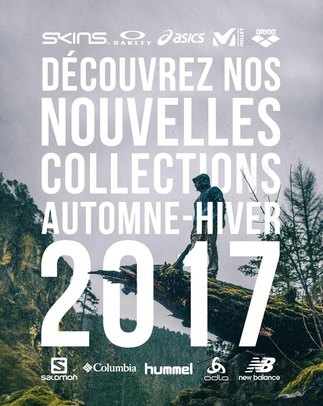 Découvrez nos nouvelles collections Automne-hiver 2017