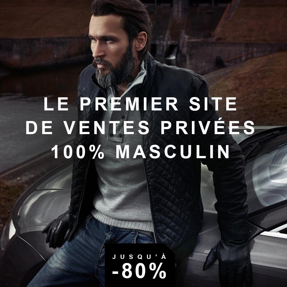 Privatesportshop.fr vous présente son petit frère, Homme Privé, le premier site de ventes privées 100% masculine